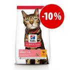 Prezzo speciale! 7 kg Hill's Science Plan Light o Perfect Weight per gatti