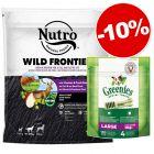 Prezzo speciale! 1,4kg Nutro + 170g Greenies Snack Large - Igiene Dentale