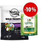 Prezzo speciale! 1,4kg Nutro + 170g Greenies Snack Petite - Igiene Dentale
