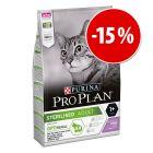 Prezzo speciale! 3 kg Pro Plan per gatti