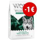 Prezzo speciale! 1 kg Wolf of Wilderness Xplore Crocchette per cani