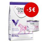 Prezzo speciale! 3 kg + 6 x 200 g Concept for Life Veterinary Diet Gatto