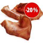 Prezzo speciale! 10 Orecchie di Maiale Bavaresi Premium