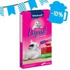 Prezzo speciale! Vitakraft Cat Liquid Snack con Manzo + Inulina