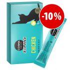 Prezzo speciale! 24 x 14 g Cosma Jelly Snack per gatti