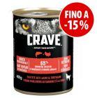 Prezzo speciale! 6 x 400 g Crave Adult alimento umido per cani