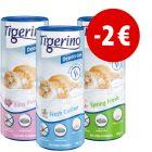 Prezzo speciale! 3 x 700 g Deodorante per lettiera Tigerino Deodoriser