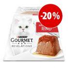 Prezzo speciale! 4 x 57 g Gourmet Revelations Mousse