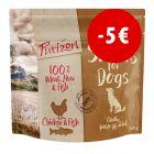 Prezzo speciale! 3 x 100 g Purizon Snack per cani - senza cereali