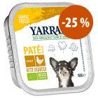 Prezzo speciale! 12 x 150 g Yarrah Bio alimento biologico per cani
