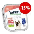 Prezzo speciale! 12 x 100 g Yarrah Bio alimento biologico per gatti