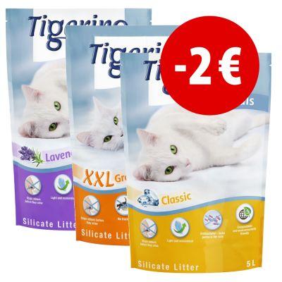 Prezzo speciale! 6 x 5 l Tigerino Crystals prezzi bassi | zooplus