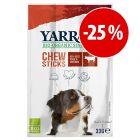 Prezzo speciale! 3 x 3 pz Yarrah Bio Stick per cani
