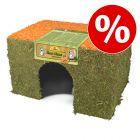 Prix avantageux ! JR Farm Maison en foin et carottes pour rongeur et lapin