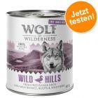 Prix avantageux ! Wolf of Wilderness Free Range 6 x 400 g / 800 g pour chien