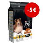 Pro Plan All Size Adult Light/Sterilised Optiweight frango com grande desconto!