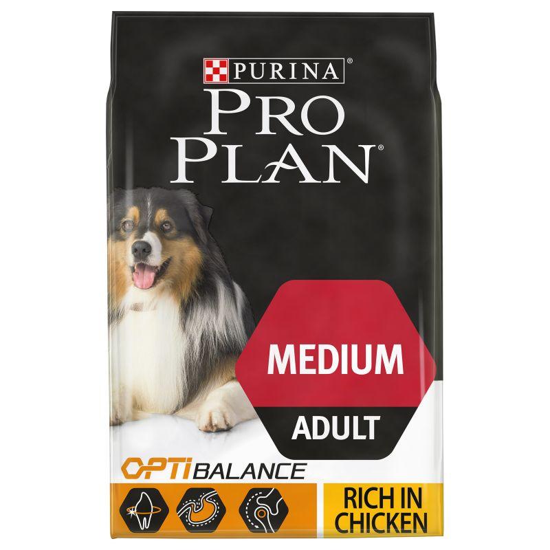 Pro Plan Canine Adult Medium OptiBalance - Chicken