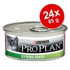 Pro Plan Cat Sterilised 24 x 85 g