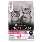 Pro Plan Delicate Kitten Ricco in Tacchino Crocchette per gatti