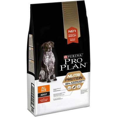 Pro Plan Dog Nutriprotein All Sizes Beef