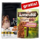 Pro Plan Droogvoer voor Honden 7 kg + Adventuros 300 g gratis!