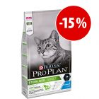 Pro Plan 3 kg pienso para gatos ¡con gran descuento!