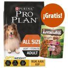 Pro Plan 14 kg pienso + snacks Purina AdVENTuROS Nuggets ¡gratis!