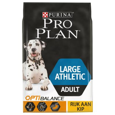 Pro Plan Large Athletic Adult Optibalance - Kip & Rijst Hondenvoer
