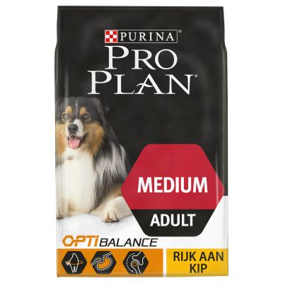 Pro Plan Medium Adult Optibalance - Kip & Rijst Hondenvoer
