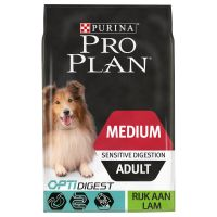 Pro Plan Medium Adult Optidigest - Lam & Rijst