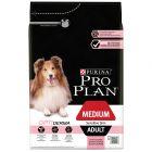 Pro Plan Medium Adult Sensitive Skin Optiderma, łosoś i ryż