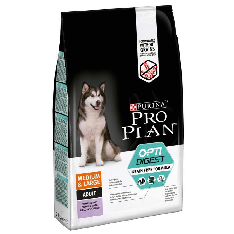 Pro Plan Medium & Large Adult OptiDigest senza cereali