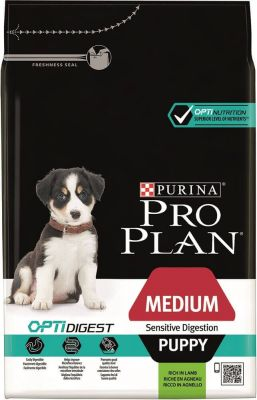 PRO PLAN Medium Puppy Lamb & Rice OPTIDIGEST