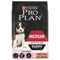 Pro Plan Puppy Medium Sensitive Skin OptiDerma - Salmon