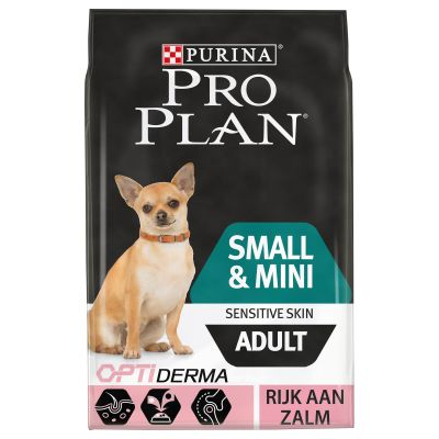 Pro Plan Small & Mini Adult Optiderma - Zalm & Rijst