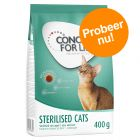 Probeer nu! 400 g Concept for Life Sterilised Cats Kattenvoer