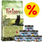 Probeerpakket: Purizon 400 g  & Cosma Nature 6 x 70 g