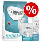 Probeerpakket Concept for Life Sensitive Kattenvoer