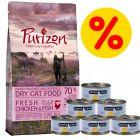 Probeerpakket Kitten: Purizon 400 g  & Cosma Nature 6 x 70 g