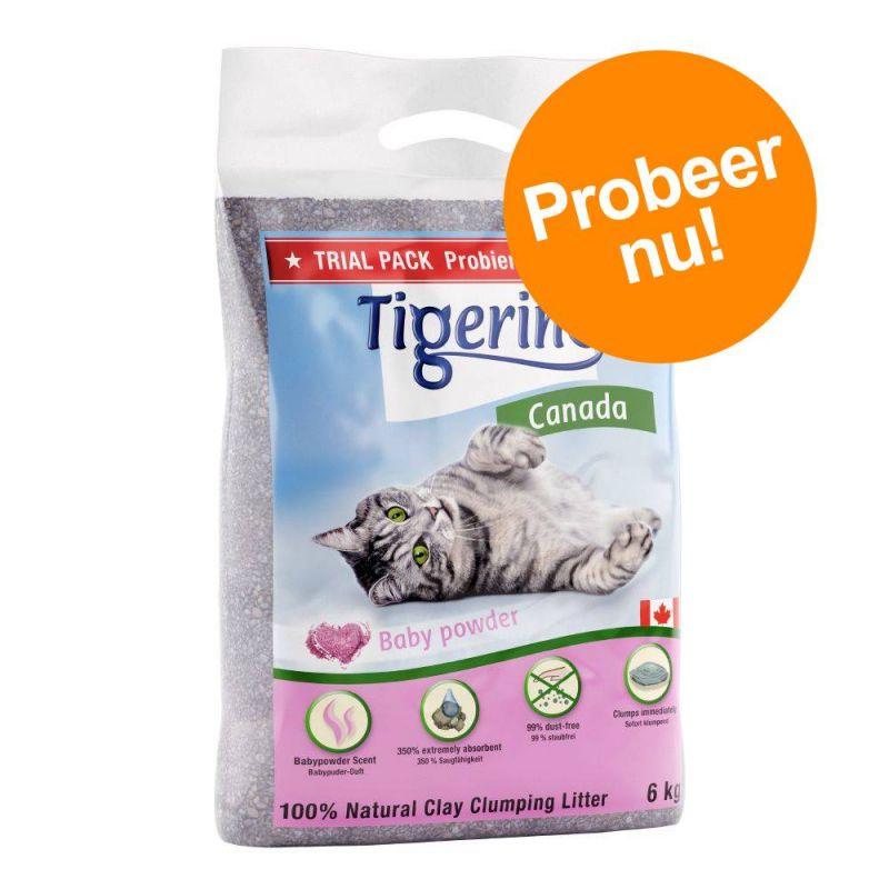 Probeerpakket: Tigerino Canada Kattenbakvulling 6 kg