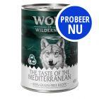 Probeerpakket: Wolf of Wilderness The Taste of - 6 x 400 g
