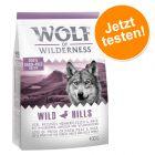 Probierknaller! Wolf of Wilderness Trockenfutter für Hunde