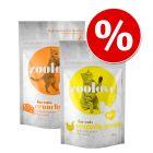 Probiermix: zoolove crunchy treats für Katzen 2 x 60 g