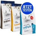 Probierpaket Happy Cat Sensitive Grainfree 3 x 4 kg