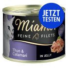 Probierpaket Miamor Feine Filets in Jelly 12 x 185 g