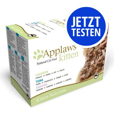 Probierpaket Applaws Kitten Dose 6 x 70 g