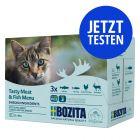 Probierpaket Bozita Häppchen in Soße Pouch 12 x 85 g