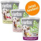 "Probierpaket Briantos ""FitBites"" Hundesnacks 3 x 150 g"
