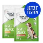 Probierpaket Concept for Life Insect Snack 2 x 100 g