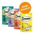 """Probierpaket """"Dreamies Katzensnacks Traumland"""" 4 x 60 g"""